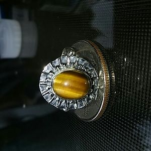 Jewelry - Natural tigers eye ring